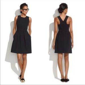 Madewell NWOT Pocket Boxpleat Scuba Sheath Dress